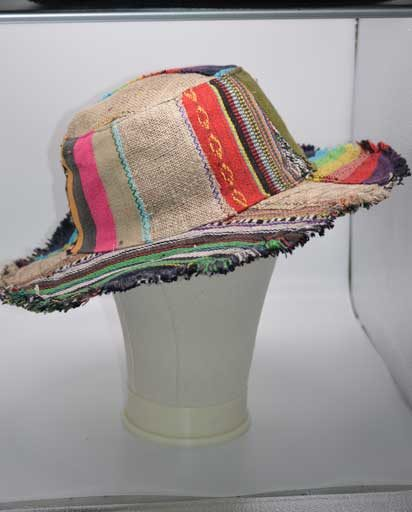 Patch Hemp Cotton Hippie Hats