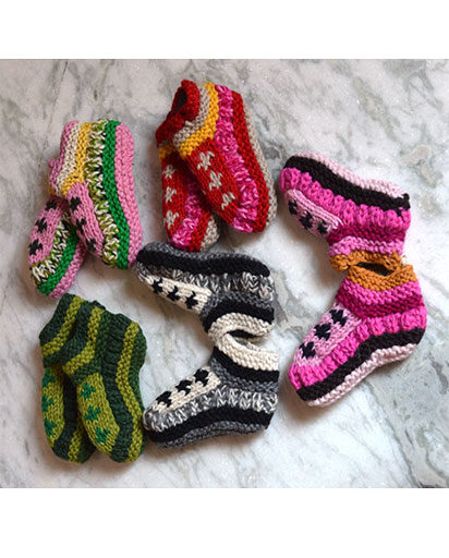 Children's Woolen Socks