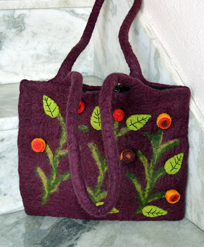 Women's Fancy Felt Bags