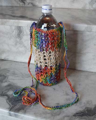 Hemp Cotton Bottle Bags