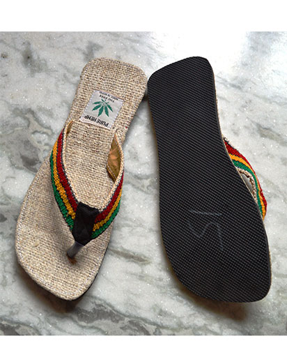 Handmade Hemp Slippers