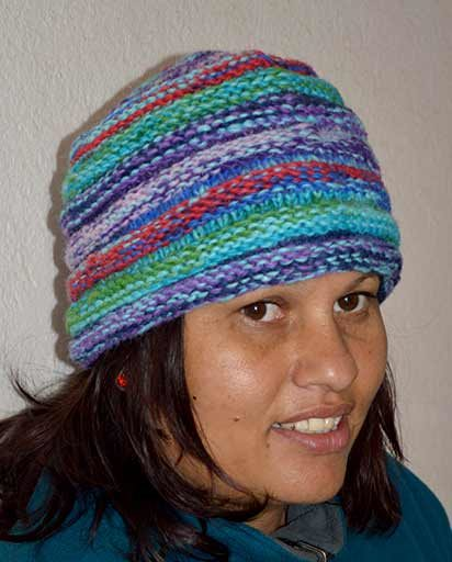 Hand Knitted Woolen Layer Hats