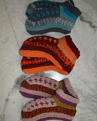 Warm Woolen Room Slippers