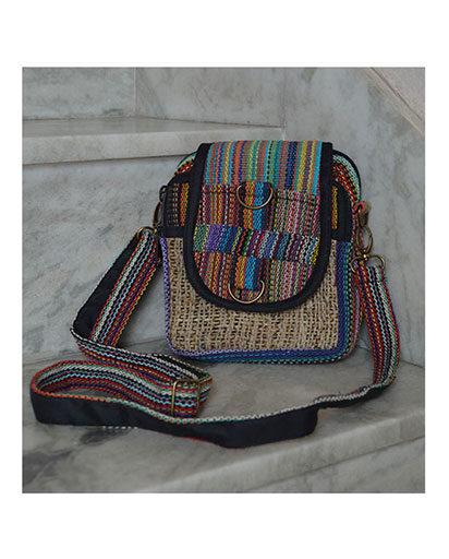Mini Hemp Cotton Bag