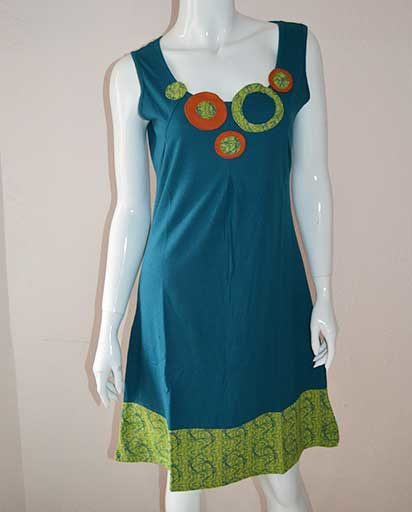 Circle Cotton Dresses