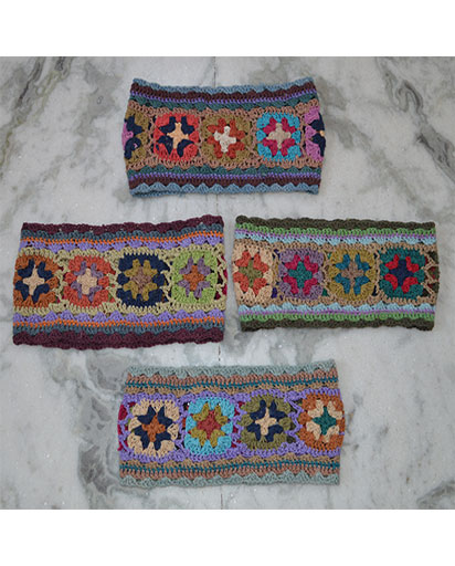 Nepalese Crochet Cotton Head bands