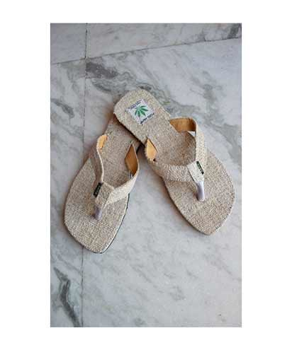 Natural Hemp Slippers