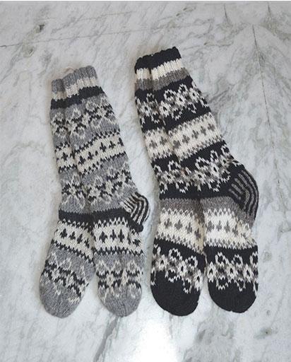 Nepalese Woolen Socks