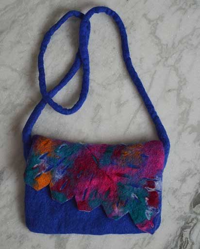 Children's Colorful Felt Bags