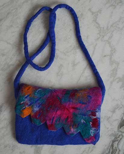 Children's Colorful Felt Bags