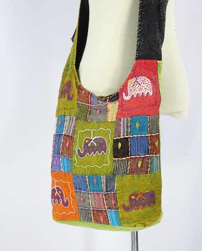 Patchwork Cotton Jogi Bags