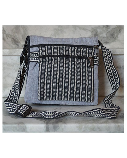 Cotton Folding Mini Crossbody Bag