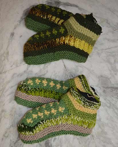 Nepal Fleece Lined Woolen Socks