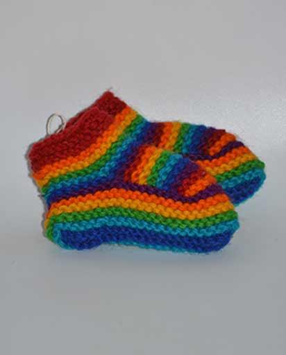 Childrens Hand Knitted Woolen Socks