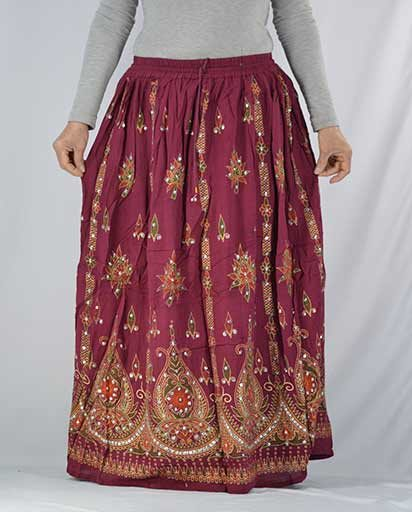 Sitara Zari Long Skirts