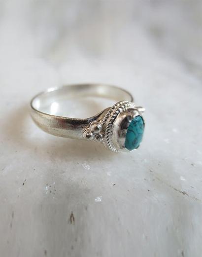 White Metal Rings