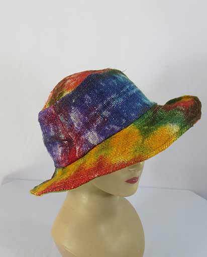 Tie Dye Bohemian Hemp Hats