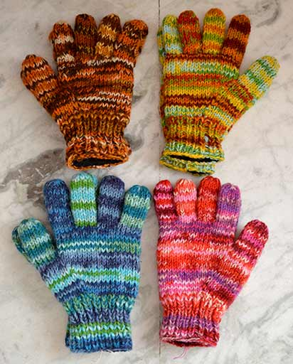 Himalayan Hand Knitted Woolen Gloves