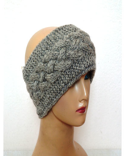 Cable Woolen Headbands