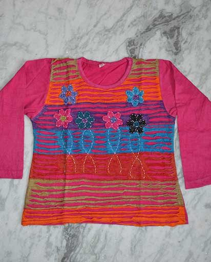 Children's Cotton Hippie T-Shirts