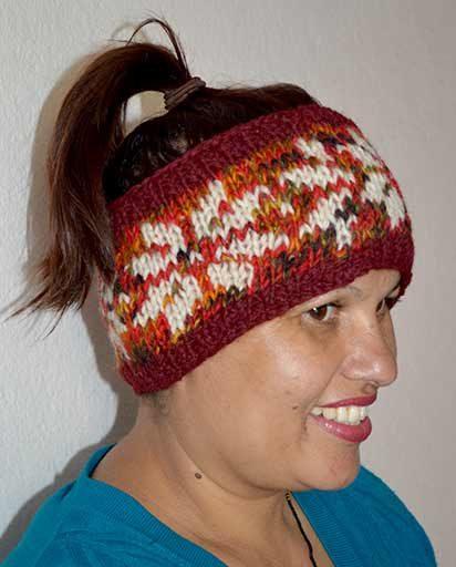 Hand Knitted Woolen Headbands