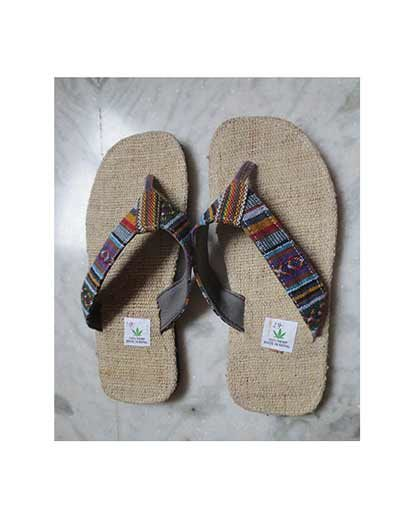 Cotton Strap Hemp Slipper