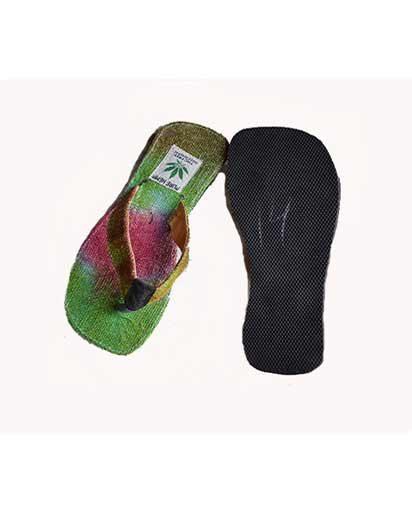 Tie Dye Hemp Slippers