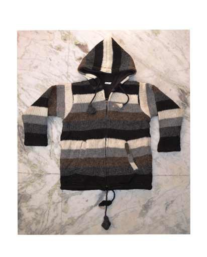 Children's Woolen Fleece Lined Jacket