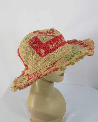 Recycled Handmade Jute Hats
