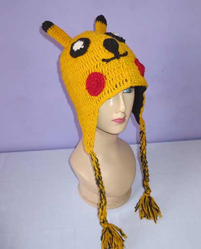 Kids Woolen Animal Hats