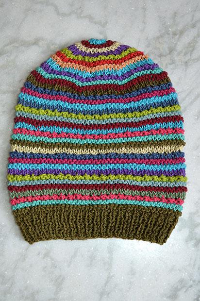 Tie Dye Crochet Hats