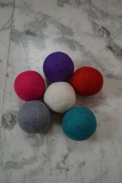 Nepal Felt Dryer Balls