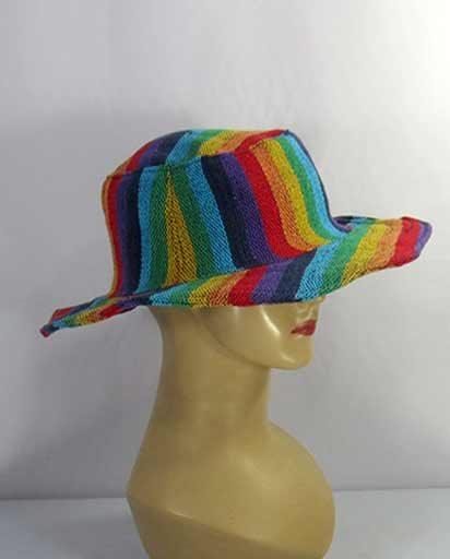 Summer Rainbow Cotton Hats