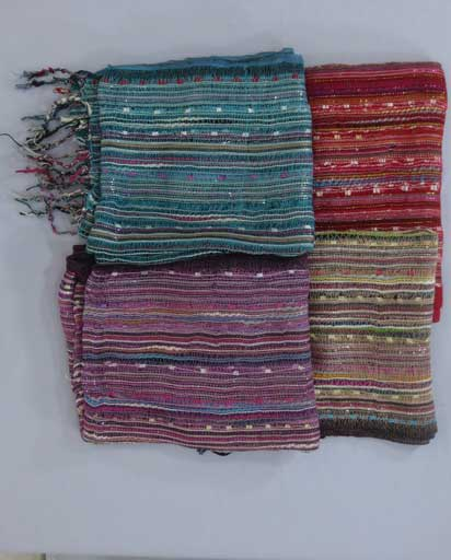 Netted Thin Light Scarves