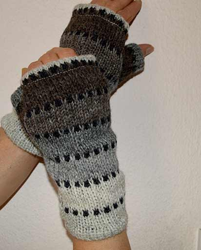 Fleece Lined Woolen Handwarmers
