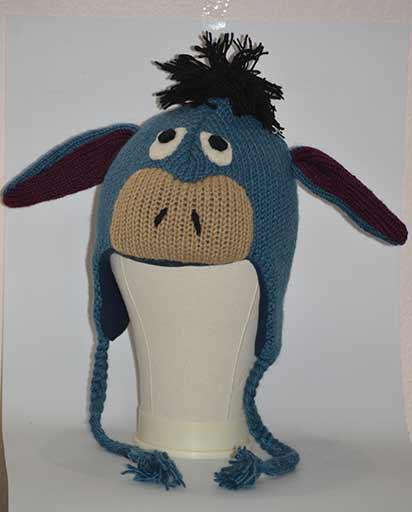 Kids Woolen Donkey Hats