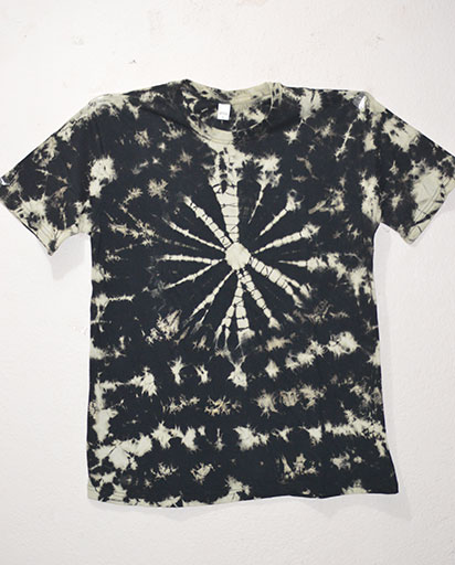 Cotton Tie Dyed Tee Shirts