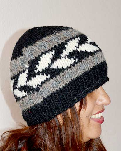 Nepalese Woolen Hand Knit Hats  dbc71426cd9