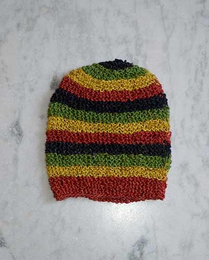 Nepalese Crochet Rasta Hemp Hats