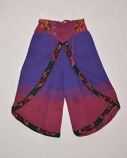 Child Loose Cotton Trousers