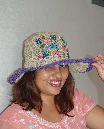 Nepal Handmade Hemp Hats