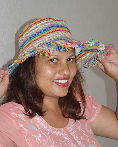 87771825569f93 Nepal Handmade Hemp Hats   Himalayan Exports