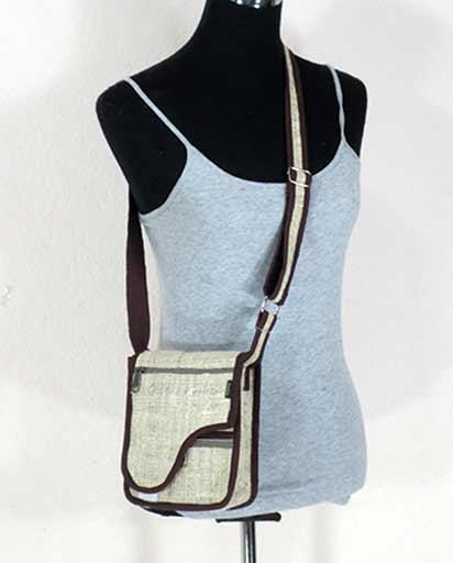 Small Hemp Side Bags