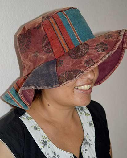 Stonewashed Patch Cotton Hats