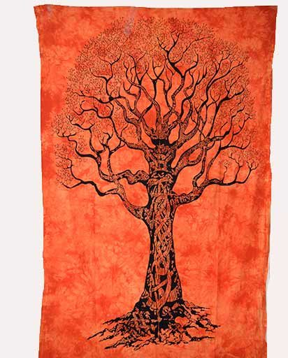 Big Tree Cotton Wall Hangings