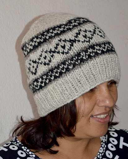 Handmade Woolen Winter Hats  a3c23712b09
