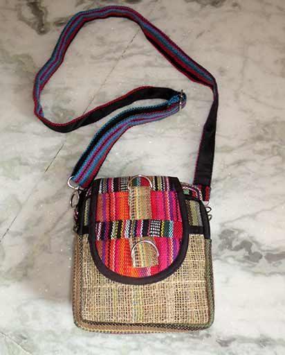 Handmade Mini Hemp Cotton Bags