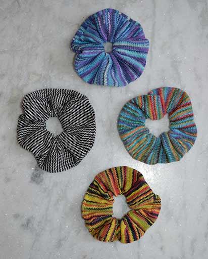 Handmade Cotton Knitting Hair Ties