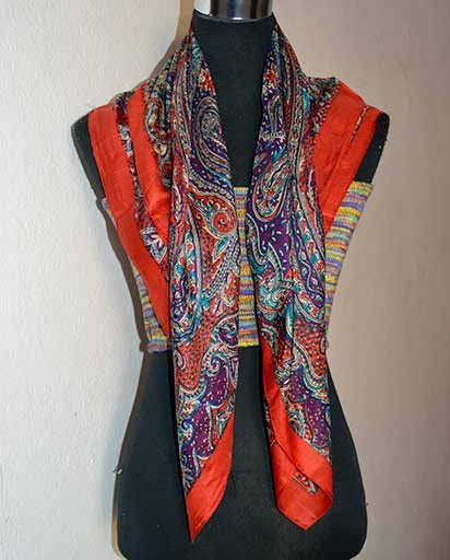 Himalayan Handmade Silk Scarves