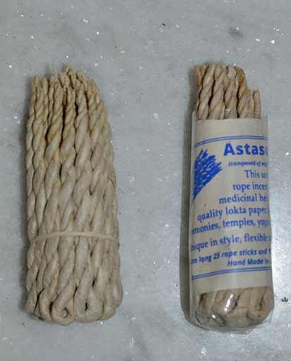 Astasugandha Tibetan Rope Incense